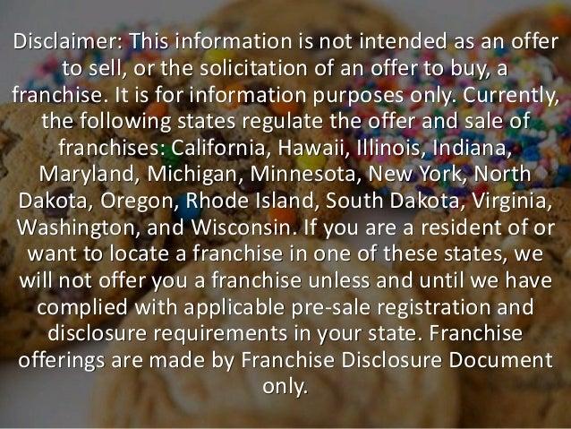 Rhode Island Franchise Disclosure Requirements