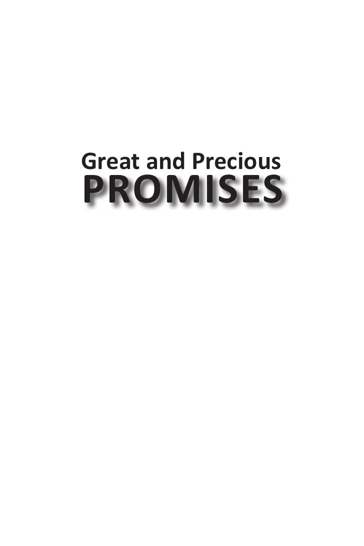 Great and PreciousPROMISES