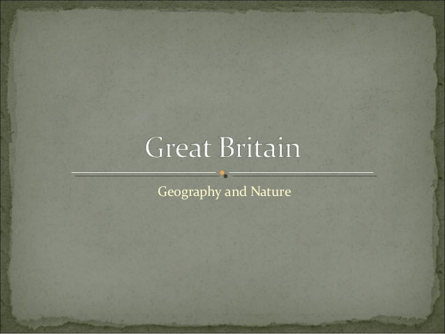 Geography and Nature