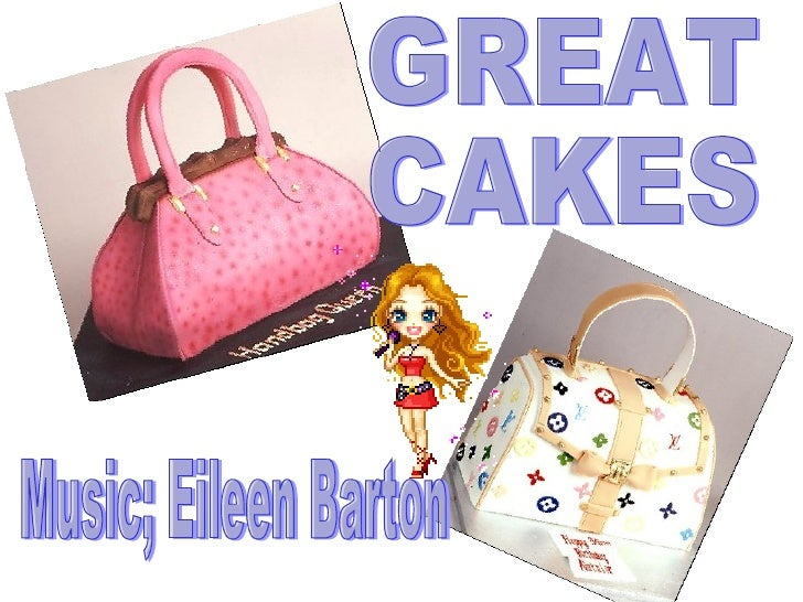 GREAT  CAKES Music; Eileen Barton