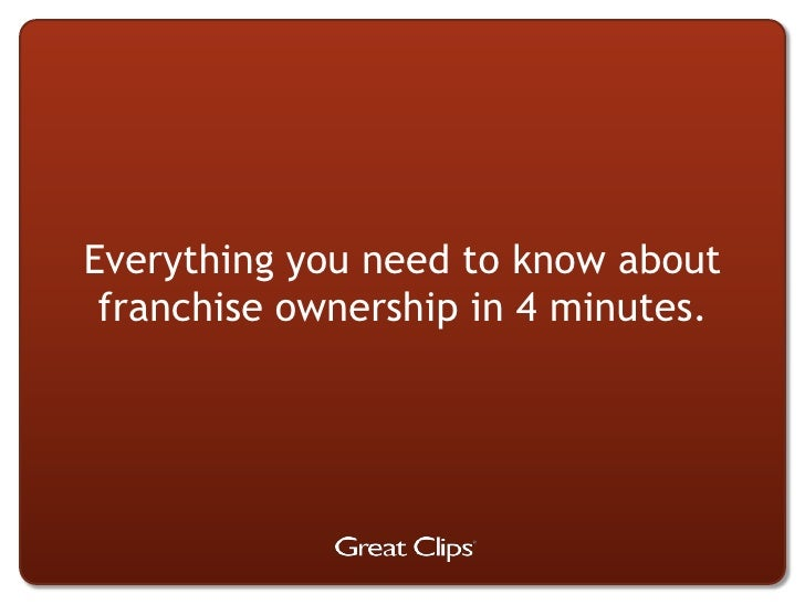 Everything you need to know about franchise ownership in 4 minutes.<br />