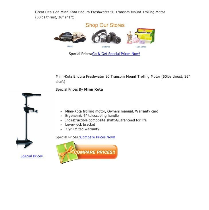 Owners Manual minn Kota rt160