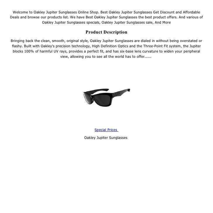 f3fdbf79ce136 Welcome to Oakley Jupiter Sunglasses Online Shop.