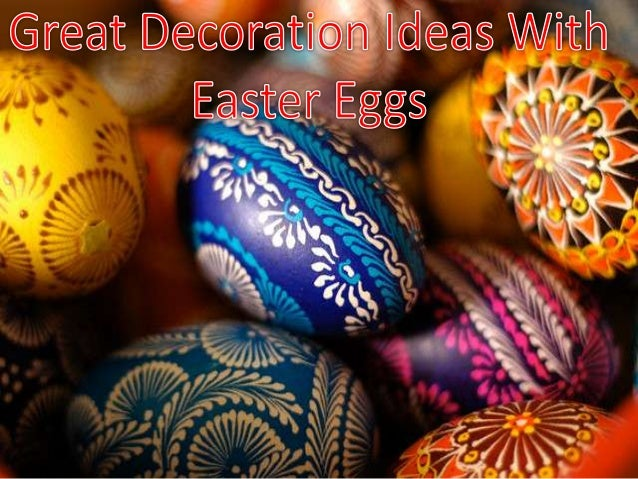 Easter is all about eggs and bunnies and gifts and traditional baked foods. Kids can be encouraged to color plastic eggs t...