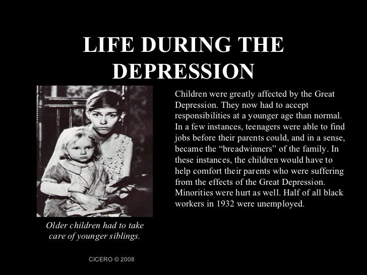 the causes of the great depression and the problems americas suffered during its span Depression symptoms and warning signs recognizing depression and getting the help you need feeling down from time to time is a normal part of life, but when.