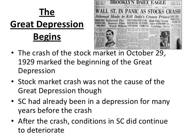 Great depression 8 6.4