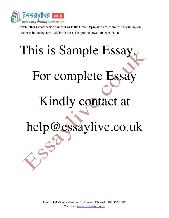 essay on depression How to write research paper on depression find help with us read this article to understand how to choose depression research paper topics.