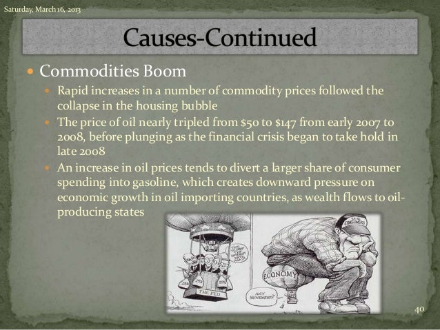 the financial crisis and the great Spanish presentation about 2008 financial crisis and its comparation with 1929´s.