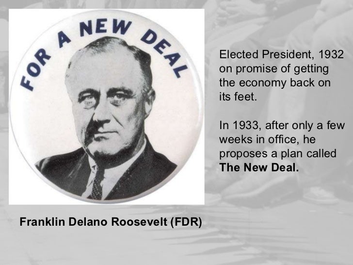 fdr great depression Wasn't his new deal similar to adolph's democratic socialism i think it's rather creepy, but it seems that way.