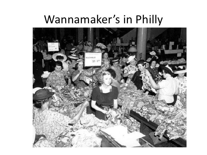 Wannamaker's in Philly<br />
