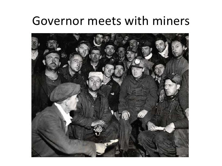 Governor meets with miners<br />