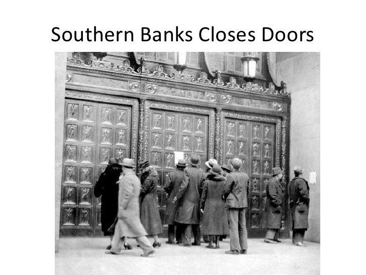 Southern Banks Closes Doors<br />