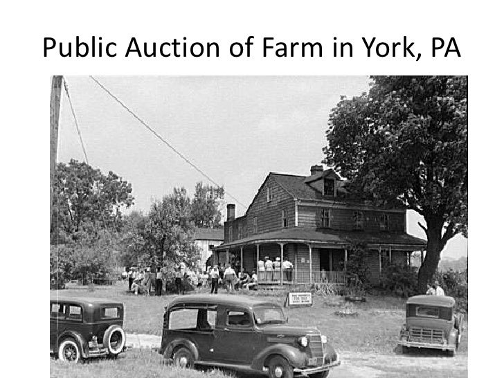 Public Auction of Farm in York, PA<br />