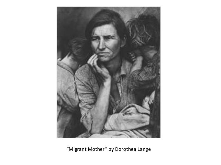 """""""Migrant Mother"""" by Dorothea Lange"""