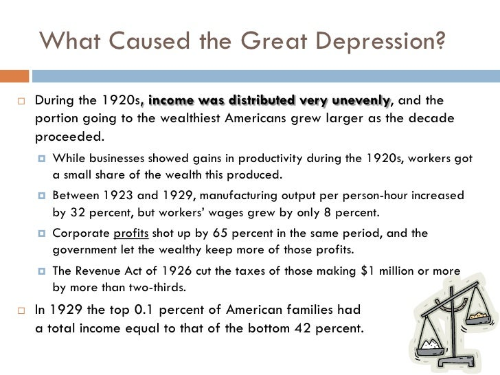Canada in the great depression essay paper