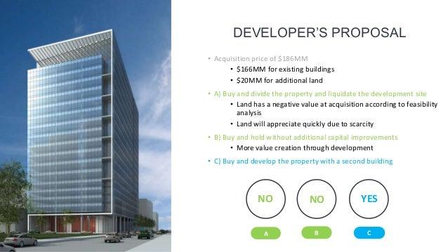 Real estate development presentation