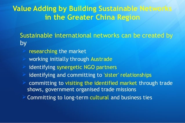 Engaging with the Greater China Region: Case Studies for Taiwan and China Slide 3