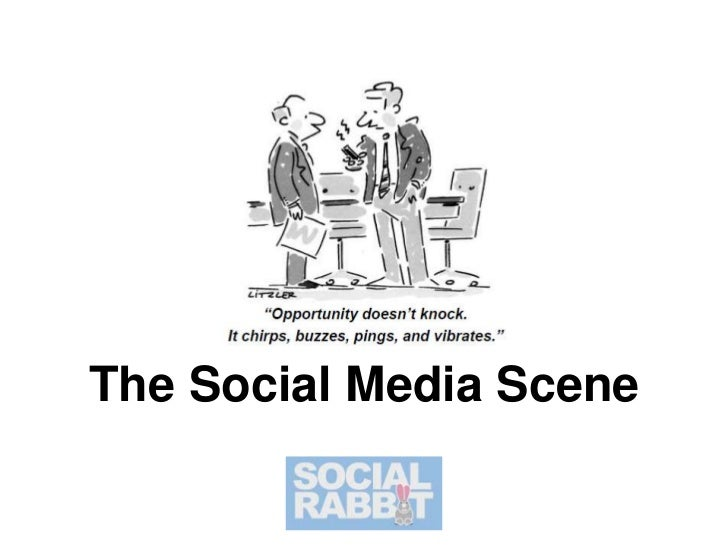 The Social Media Scene<br />