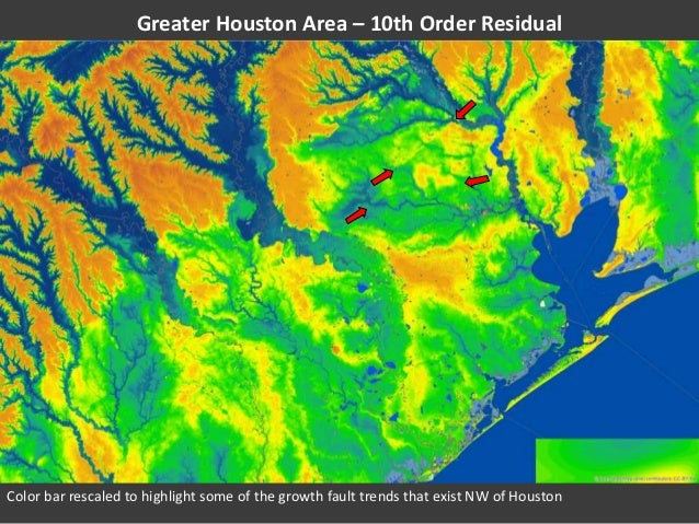 Greater Houston Area Elevation Analysis