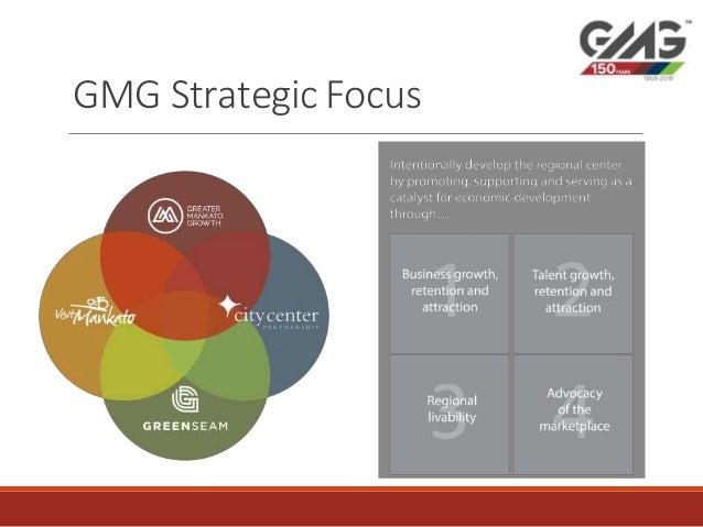 Greater Mankato growth inc: Visit Mankato strategic focus 2018 Slide 2