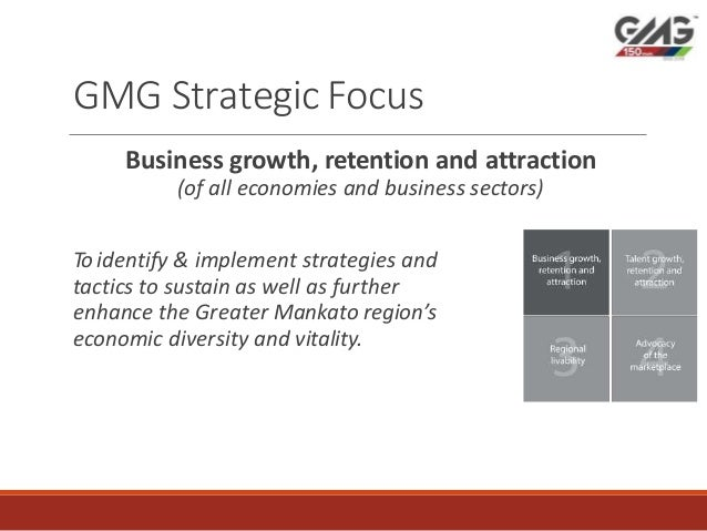 Greater Mankato growth inc: Visit Mankato strategic focus 2018 Slide 3