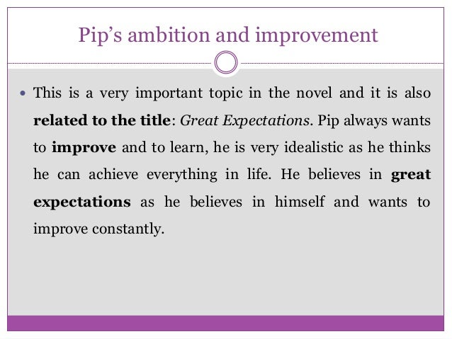 Theme Essays Character Analysis Of Pip In Great Expectations Essay Format English