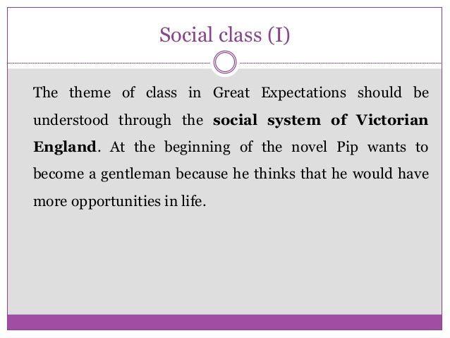 great expectations essays social class