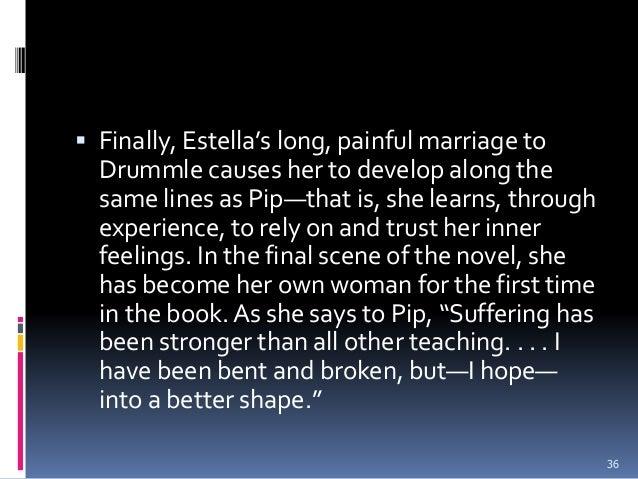 drummle and estella relationship trust