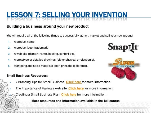 Inventors Online Course Sample