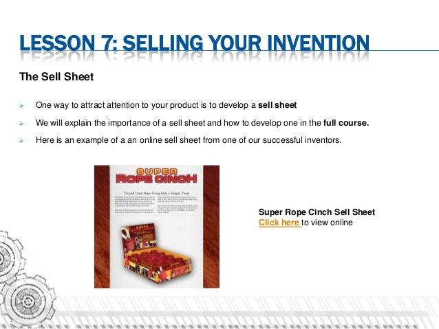 Inventors Online Course Sample