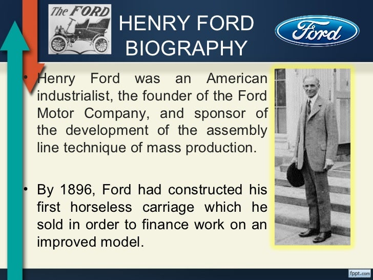 great inventors henry ford biography•