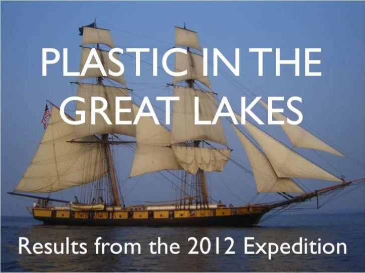 Plastics in the Great Lakes-Eriksen, 2012