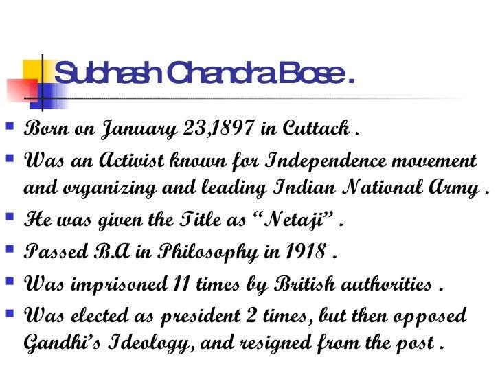 subhas chandra bose speech in english pdf