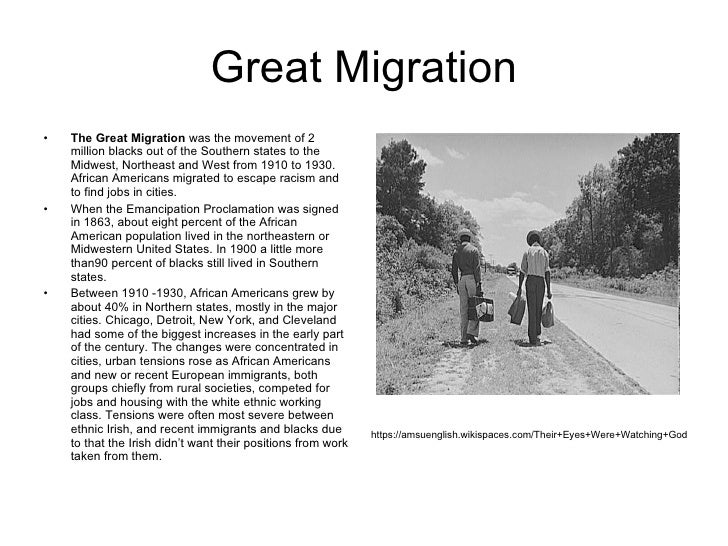 the great migration 2 essay Free the great migration papers, essays, and research papers essay-writenet.