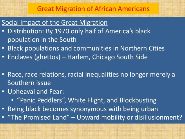 What Effect Did White Flight Have On America S Cities