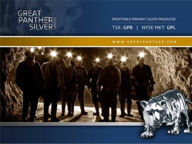 PROFITABLE PRIMARY SILVER PRODUCER                                 Primary Silver Producer           SILVER               ...