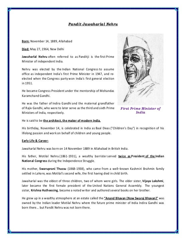 essay on our great indian leaders Explore the biographies and profiles of some famous indian leaders vallabhbhai patel was one of the great social leaders of india.