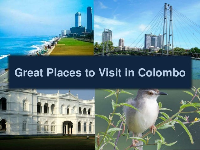 Great Places To Visit In Colombo