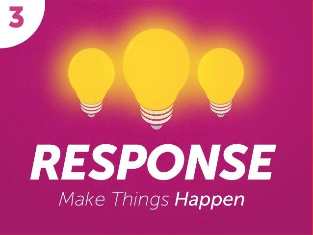 RESPONSE Make Things Happen 3