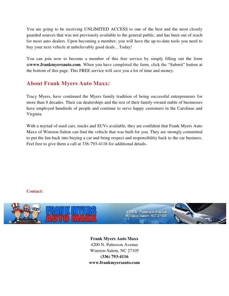 Salem Car Dealerships >> Great Sales At Our Used Cars Dealership In Winston Salem Nc