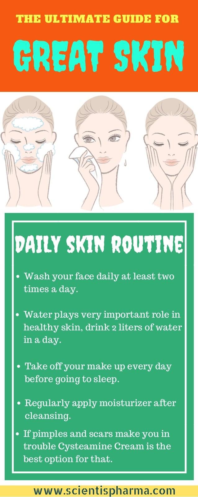 Great skin tips