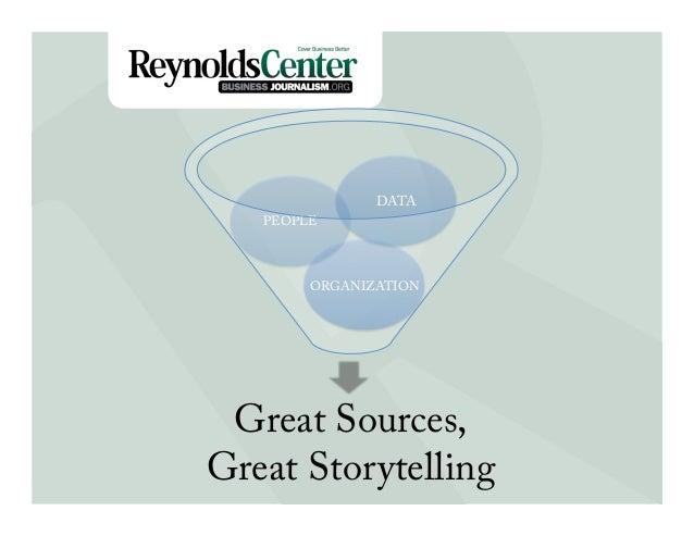 DATA   PEOPLETitle Slide        ORGANIZATION Great Sources,Great Storytelling