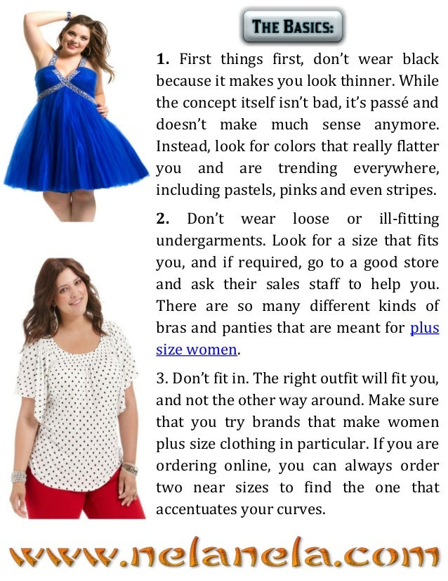 Great Things Worth Knowing About Plus Size Styling