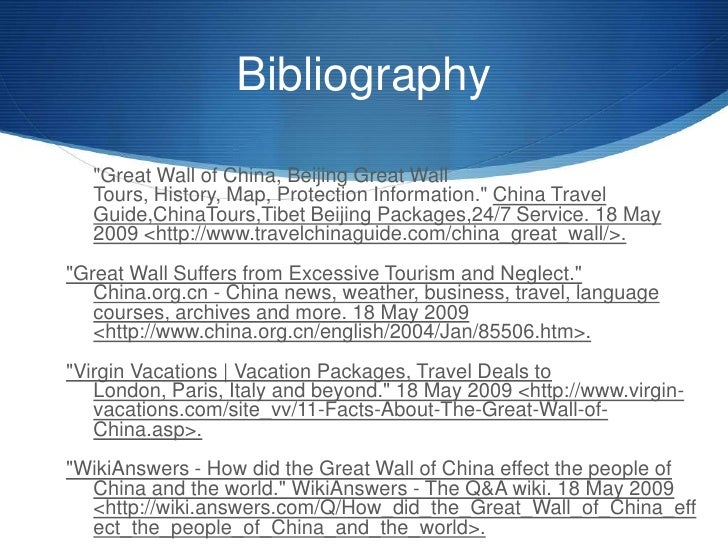 Great Wall Powerpoint