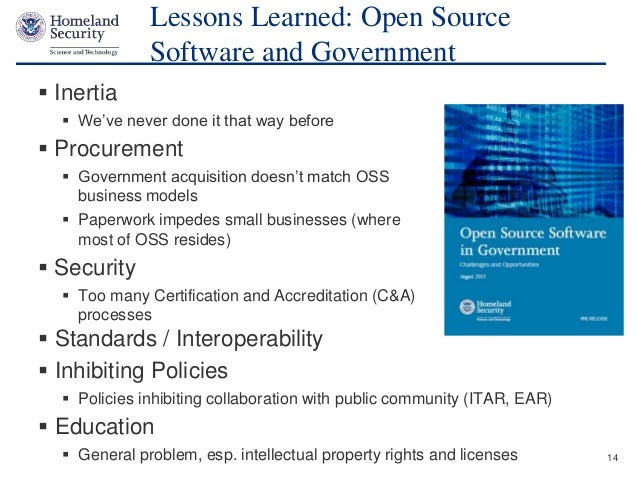 Open Source And Cyber Security Open Source Software S