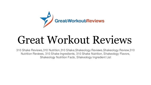 Great Workout Reviews