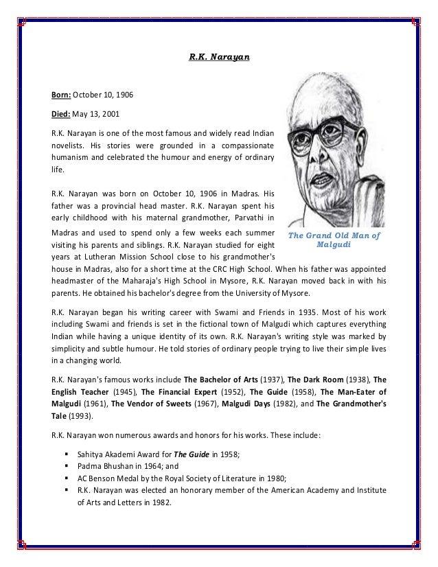 Short Summary of Financial Expert by R. K. Narayan