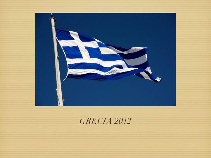 GRECIA 2012