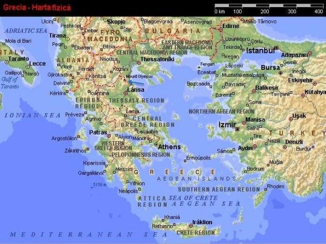Grecia Prezentare Geografica