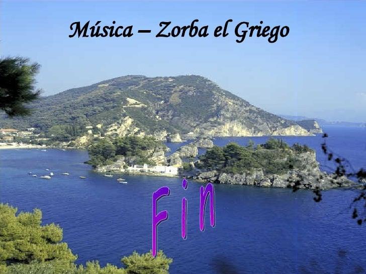Música – Zorba el Griego F i n